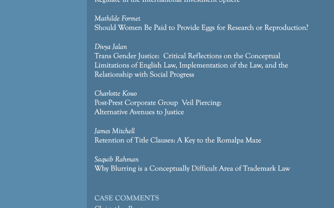 Now Available: Legal Issues Journal 4(2) July 2016